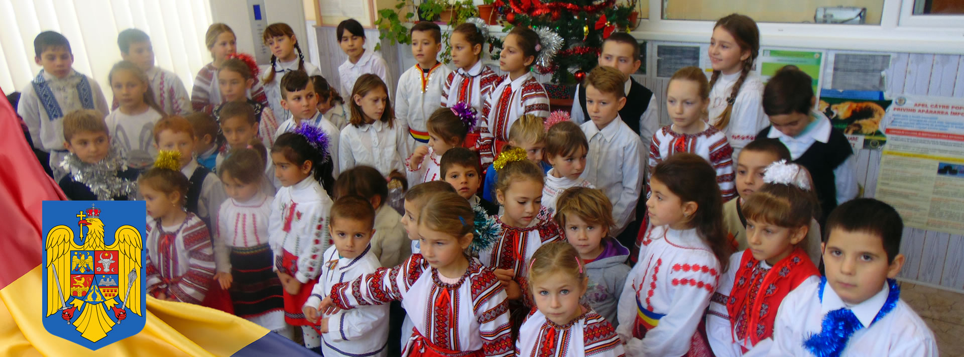 Evenimnet cultural, copii din Comuna Beresti-Meria