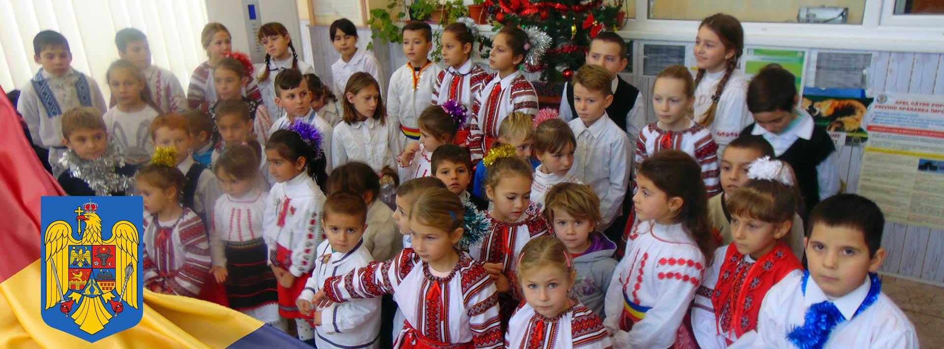Evenimnet cultural, copii din Comuna Berești-Meria